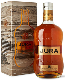 Jura Scotch Single Malt Diurachs Own 16 Year